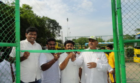 Inauguration of Synthetic Volleyball Courts